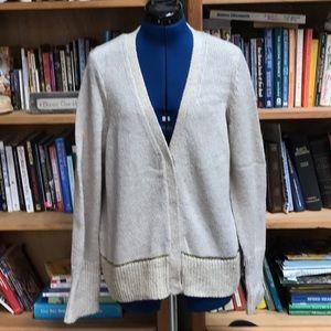Simply Vera Size XL Hidden Snap Front Sweater (4)